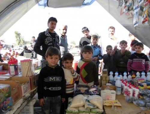 Flüchtlingslager Bab Al Salameh