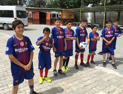 CF Barcelona gegen Real Madrid in Kilis