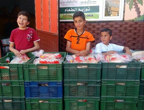 Essenverteilung Ramadan 2018