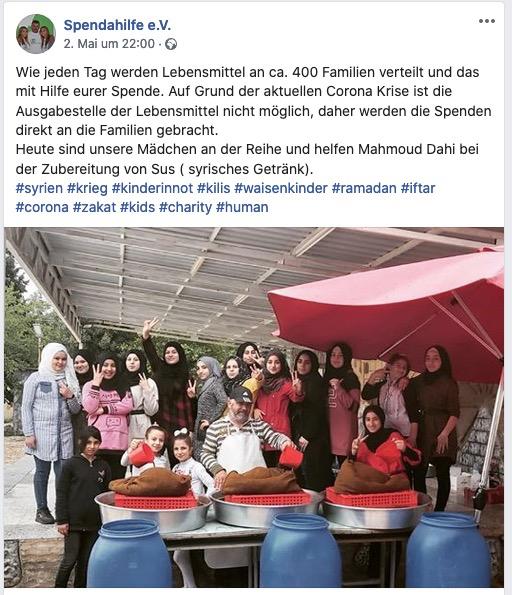 Ramadan 2020 Spendahilfe